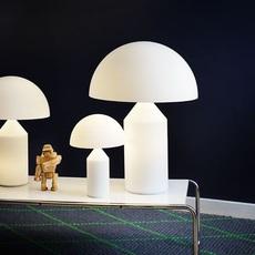 Atollo vico magistretti oluce 236 opaline luminaire lighting design signed 22153 thumb
