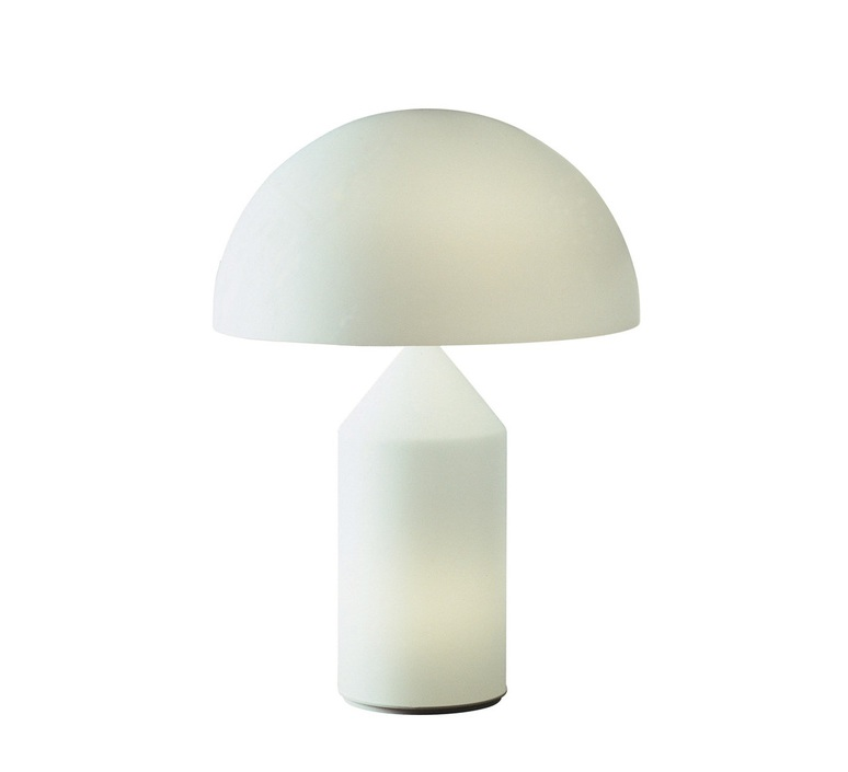 Atollo vico magistretti oluce 235 opaline luminaire lighting design signed 22166 product