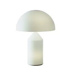 Atollo vico magistretti oluce 235 opaline luminaire lighting design signed 22166 thumb