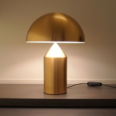 Atollo vico magistretti oluce 233 gold luminaire lighting design signed 22105 thumb