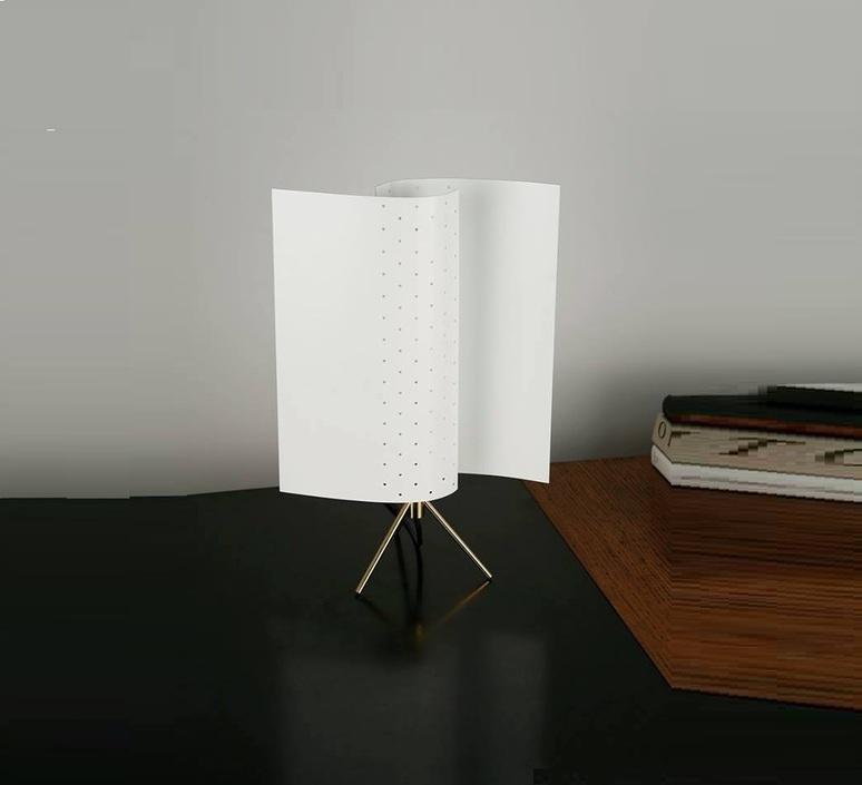 PoserB207BlancH39cm De Lampe Lignes Démarcation À gf6yIbvY7