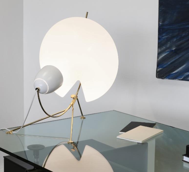 B208 michel buffet lignes de demarcation b208 blanc luminaire lighting design signed 23574 product