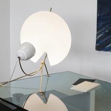 B208 michel buffet lignes de demarcation b208 blanc luminaire lighting design signed 23574 thumb