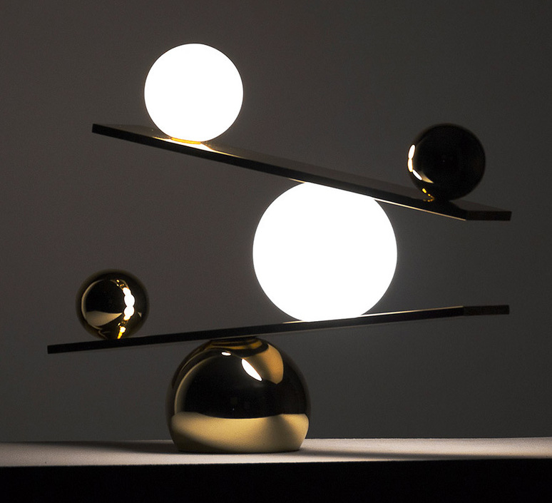 Balance victor castanera lampe a poser table lamp  oblure vcba1010  design signed 46685 product