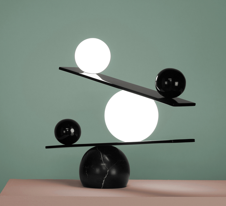 Balance victor castanera lampe a poser table lamp  oblure vcba1003  design signed 46675 product