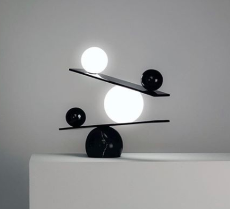 Balance victor castanera lampe a poser table lamp  oblure vcba1003  design signed 46679 product