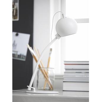 Lampe a poser ball blanc mat l17cm h45cm frandsen normal