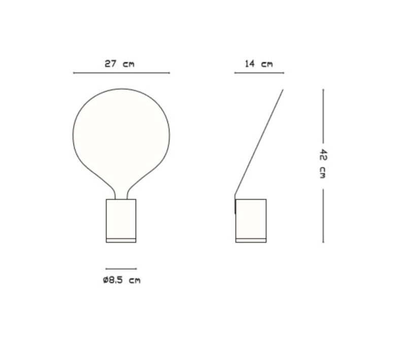 Balloon uli budde vertigo bird v05030 5201 luminaire lighting design signed 14362 product