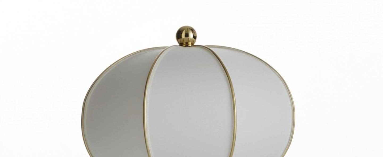 Lampe a poser balloon blanc or h45cm o30cm mm lampadari normal