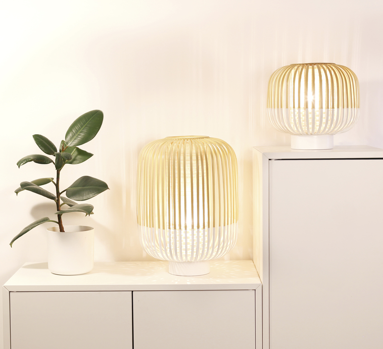 Bamboo light s arik levy lampe a poser table lamp  forestier 20976  design signed 42686 product