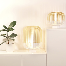 Bamboo light s arik levy lampe a poser table lamp  forestier 20976  design signed 42686 thumb