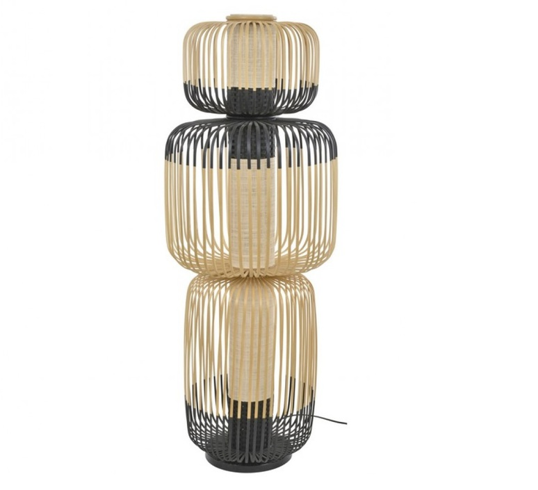 Bamboo light totem arik levy lampe a poser table lamp  forestier 20138  design signed 42624 product
