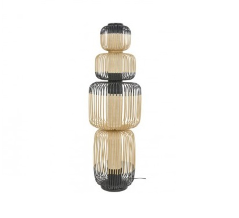 Bamboo light totem arik levy lampe a poser table lamp  forestier 20139  design signed 42625 product