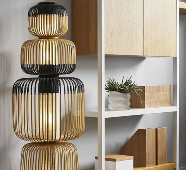 Bamboo light totem arik levy lampe a poser table lamp  forestier 20139  design signed 42684 product
