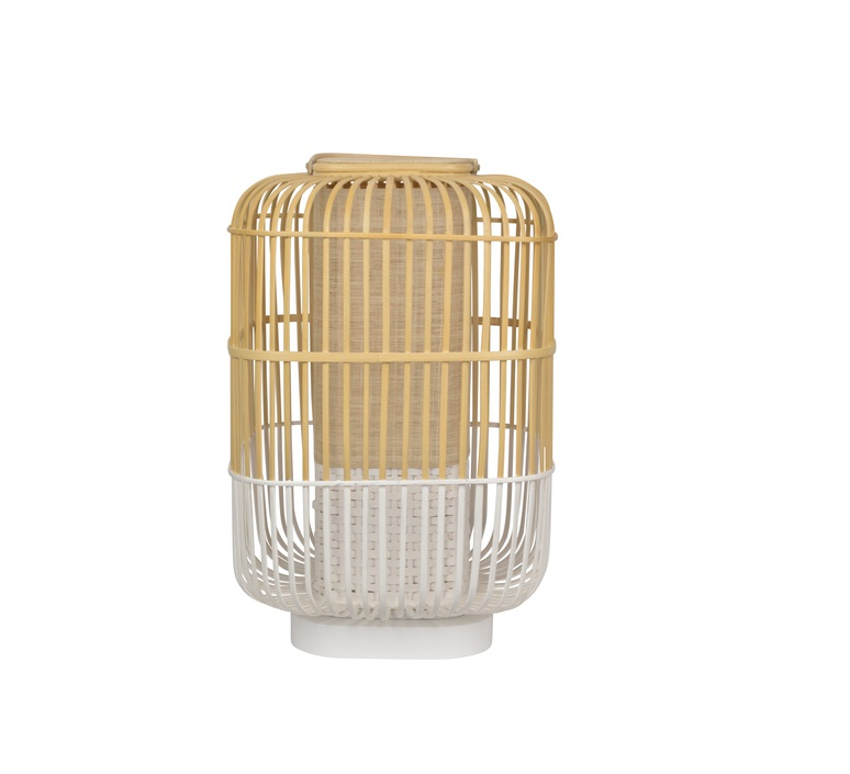 Bamboo square l arik levy lampe a poser table lamp  forestier 21227  design signed 59372 product