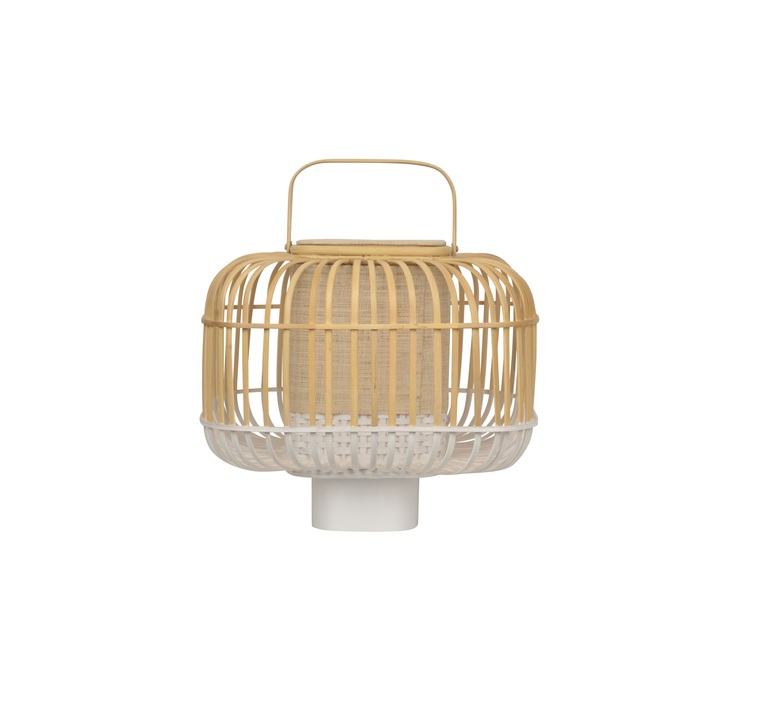 Bamboo square s arik levy lampe a poser table lamp  forestier 21223  design signed 59360 product