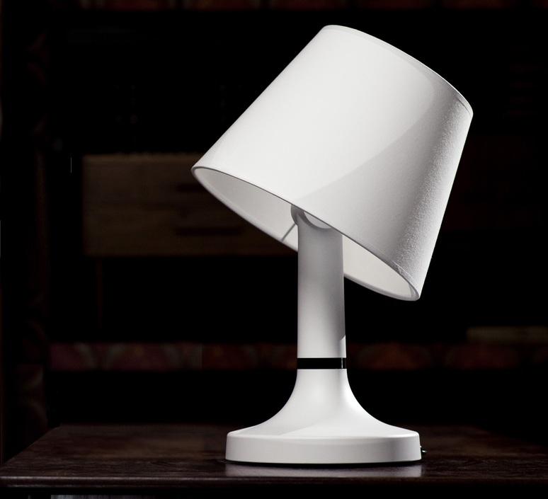Lampe à poser, Bang, blanc, H47cm - Bang - Luminaires Nedgis