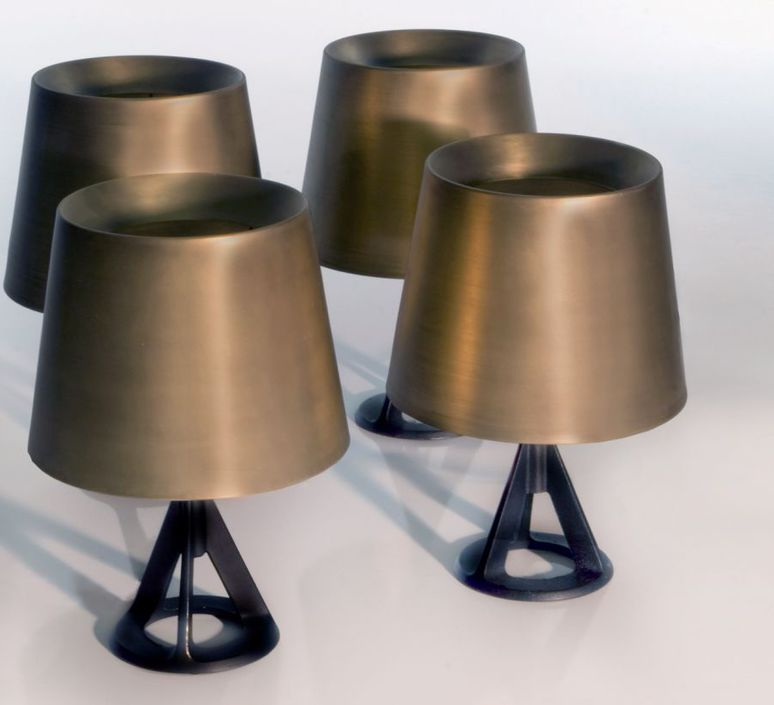 Base tom dixon lampe a poser table lamp  tom dixon bss01 feum1  design signed 48456 product