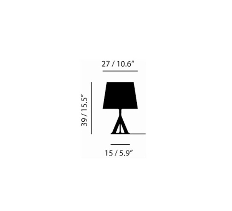 Base tom dixon lampe a poser table lamp  tom dixon bss01 feum1  design signed 48461 product
