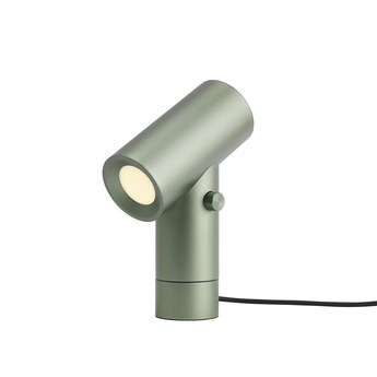 Lampe a poser beam lamp vert led 2700k 425lm o18 7cm h26 2cm muuto normal