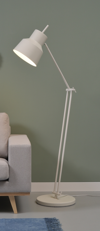 Lampe a poser belfast f blanc o70cm h165cm it s about romi normal