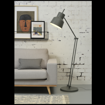 Lampe a poser belfast f gris o70cm h165cm it s about romi normal
