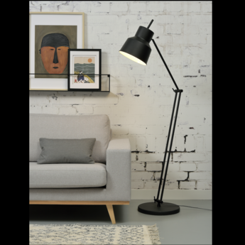 Lampe a poser belfast f noir o70cm h165cm it s about romi normal