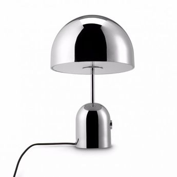 Lampe a poser bell chrome l30cm h44cm tom dixon normal