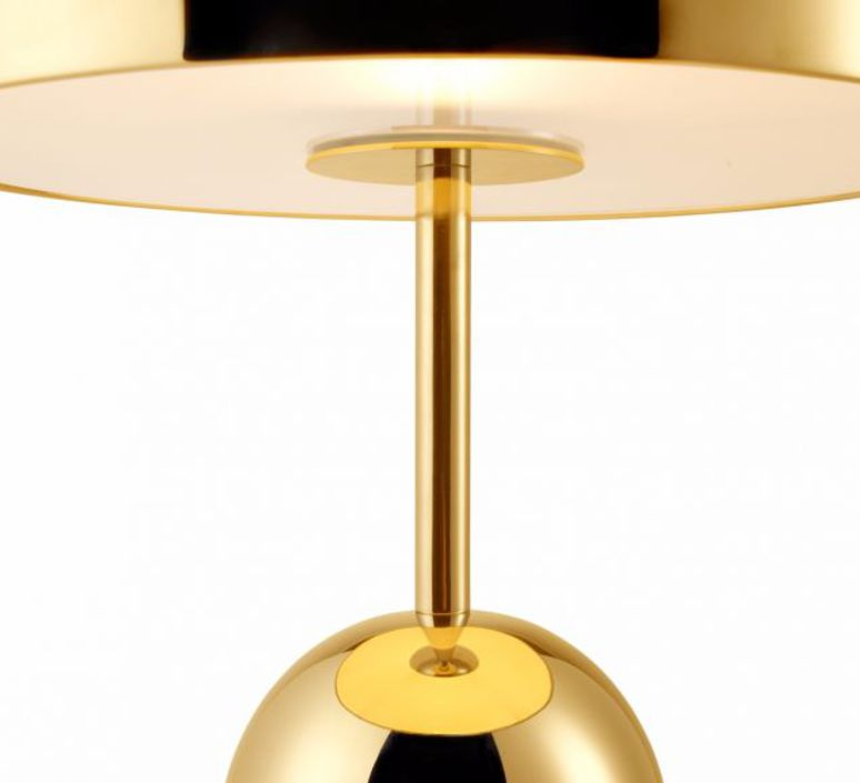 table lamp bell brass l30cm h44cm tom dixon nedgis lighting. Black Bedroom Furniture Sets. Home Design Ideas