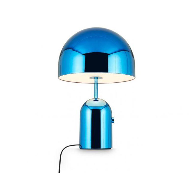 Bell large tom dixon lampe a poser table lamp  tom dixon bet02bleu  design signed 48475 product