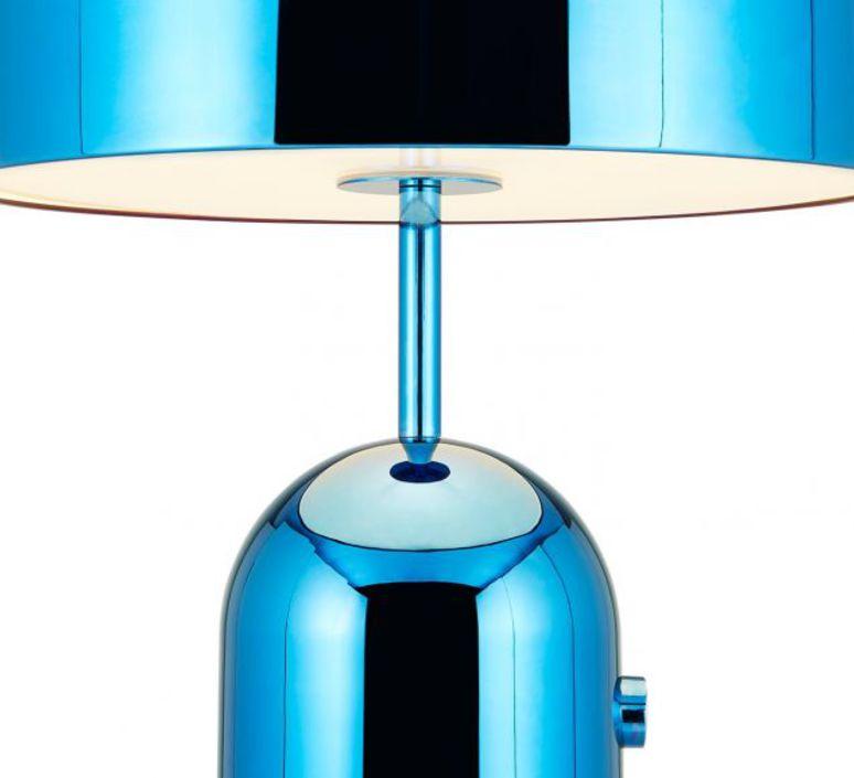 Bell large tom dixon lampe a poser table lamp  tom dixon bet02bleu  design signed 48477 product