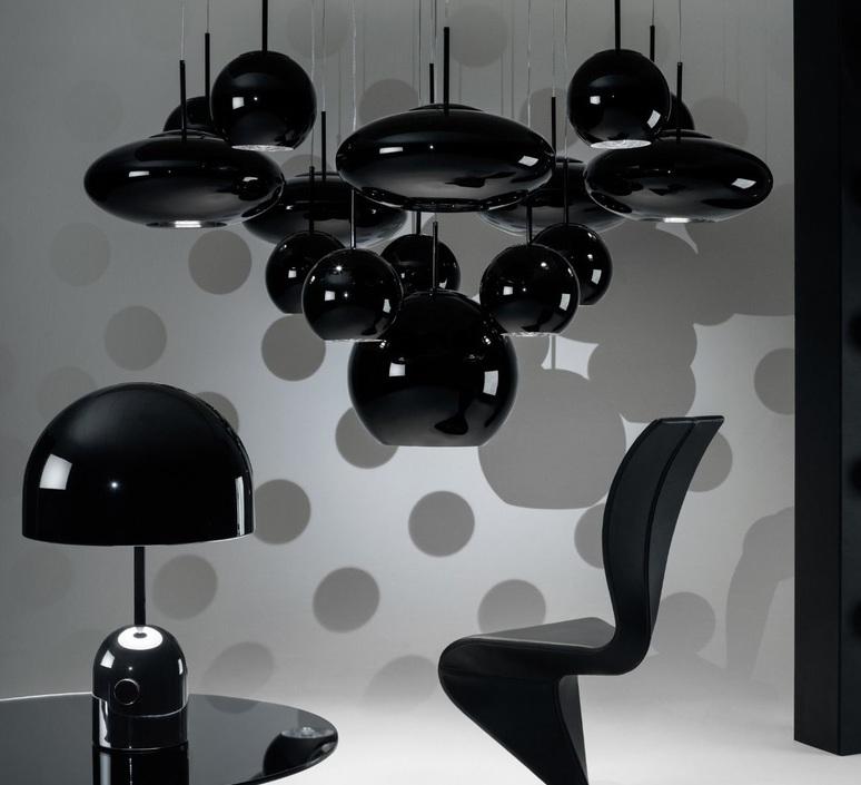 Bell large tom dixon lampe a poser table lamp  tom dixon bet02bkeu  design signed 48469 product