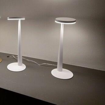 Lampe a poser bella blanc o12cm h31 6cm panzeri normal