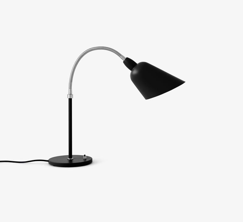 Table Lamp Bellevue Aj8 Black Led L18cm H42cm Andtradition