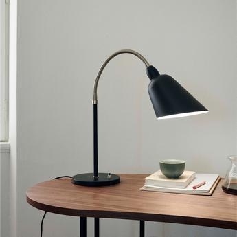Lampe a poser bellevue aj8 noir led l18cm h42cm andtradition normal