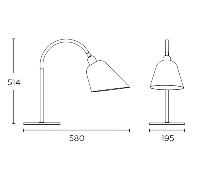 Bellevue arne jacobsen andtradition 20811296 luminaire lighting design signed 28526 product