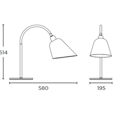 Bellevue arne jacobsen andtradition 20811296 luminaire lighting design signed 28526 thumb