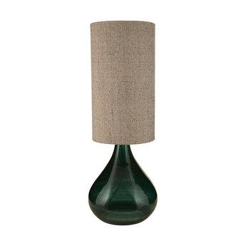 Lampe a poser big gris fonce abat jour naturel h119cm o34cm house doctor normal