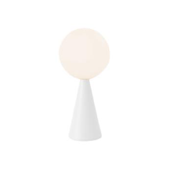 Lampe a poser bilia blanc o12cm h26cm fontana arte normal
