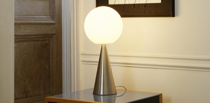 Luminaire design, de style années 30, hiver Luminaires Nedgis