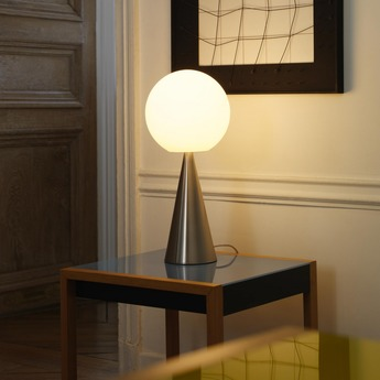 Lampe a poser bilia chrome h43cm fontana arte normal
