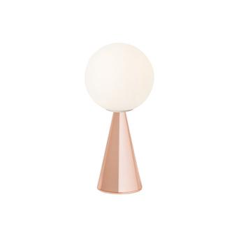 Lampe a poser bilia cuivre o12cm h26cm fontana arte normal