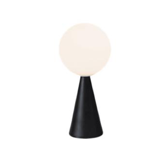 Lampe a poser bilia noir o12cm h26cm fontana arte normal