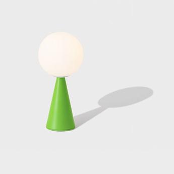 Lampe a poser bilia vert o12cm h26cm fontana arte normal