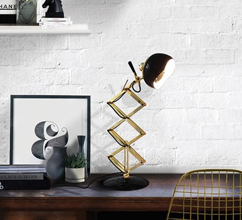 Billy studio delightfull delightfull table billy black gold luminaire lighting design signed 25641 product