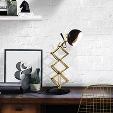 Billy studio delightfull delightfull table billy black gold luminaire lighting design signed 25641 thumb
