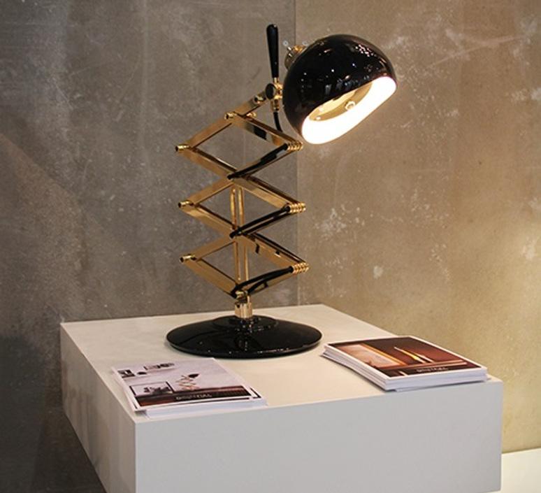 Billy studio delightfull delightfull table billy black gold luminaire lighting design signed 25643 product