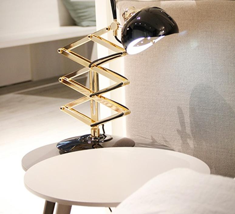 Billy studio delightfull delightfull table billy black gold luminaire lighting design signed 25645 product