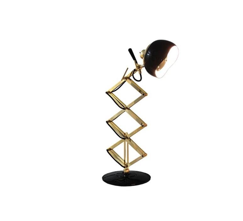 Billy studio delightfull delightfull table billy black gold luminaire lighting design signed 25646 product