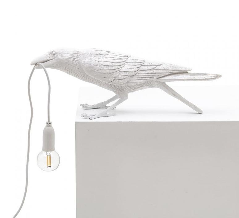Bird corbeau playing marcantonio raimondi malerba lampe a poser table lamp  seletti 14733  design signed nedgis 97107 product